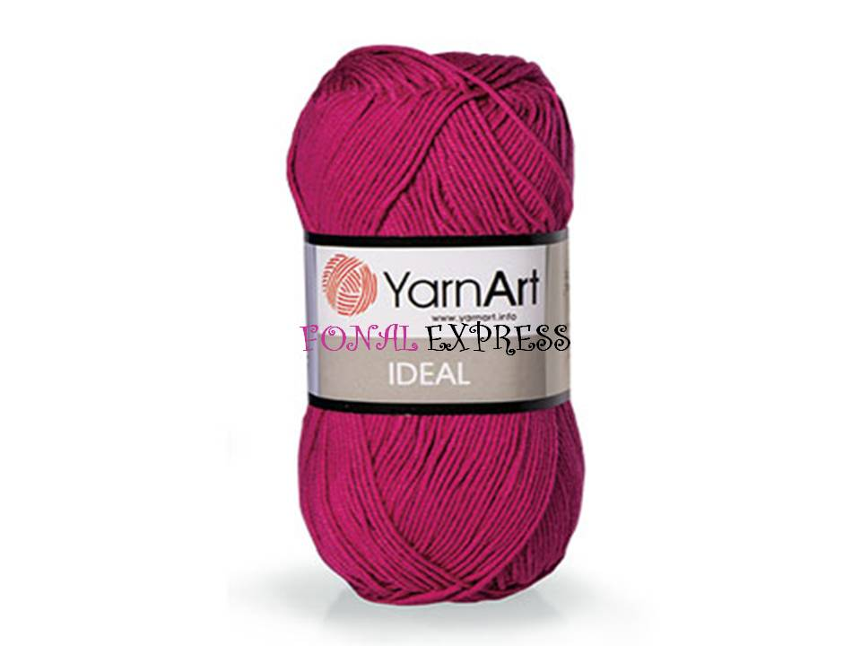 250 g 5 db YarnArt IDEAL 100% pamut fonal. Tű 3 mm. Szín 243.